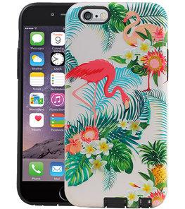 Flamingo Design Hardcase Backcover voor iPhone 6