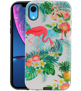 Flamingo Design Hardcase Backcover voor iPhone XR
