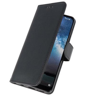 Bookstyle Wallet Cases Hoes voor iPhone 11 Pro Zwart