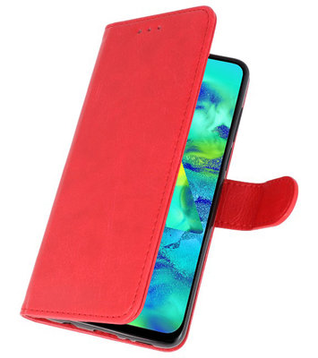 Bookstyle Wallet Cases Hoes voor iPhone 11 Rood