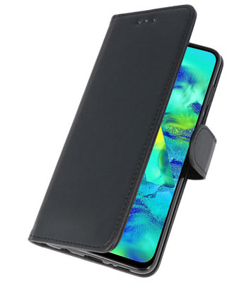 Bookstyle Wallet Cases Hoes voor Samsung Galaxy Note 10 Plus Zwart