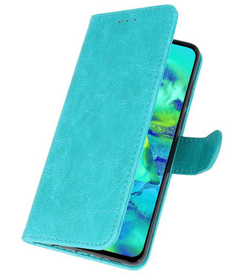 Bookstyle Wallet Cases Hoes voor Samsung Galaxy Note 10 Plus Groen