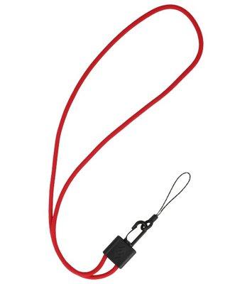 CSC Ronde Touwtjes voor Telefoon Hoesjes of Badge Rood