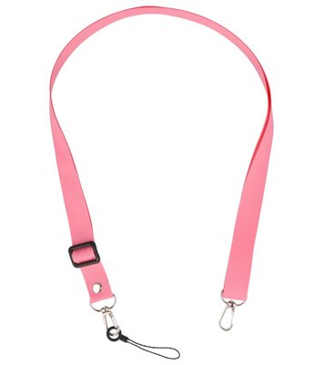 Schouder / Nek Touwtjes voor Hoesjes of Badge Roze