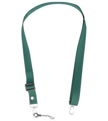 Schouder / Nek Touwtjes voor Hoesjes of Badge Donker Groen