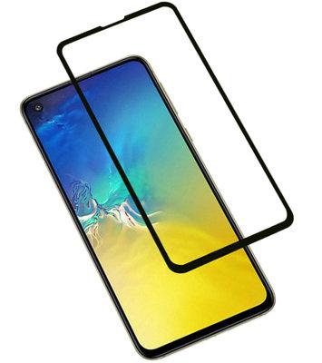 Zwart Samsung Galaxy S10e Tempered Glass Screen Protector