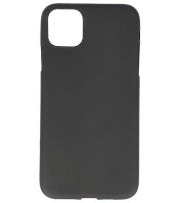 Color Backcover voor iPhone 11 Zwart