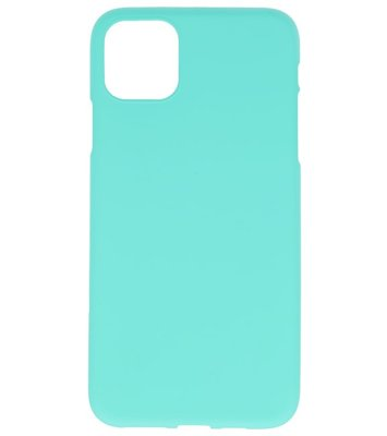Color Backcover voor iPhone 11 Turquoise