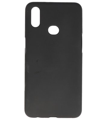 Color Backcover voor Samsung Galaxy A10s Zwart