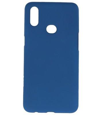 Color Backcover voor Samsung Galaxy A10s Navy