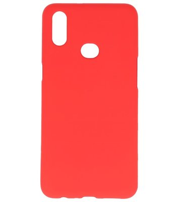 Color Backcover voor Samsung Galaxy A10s Rood