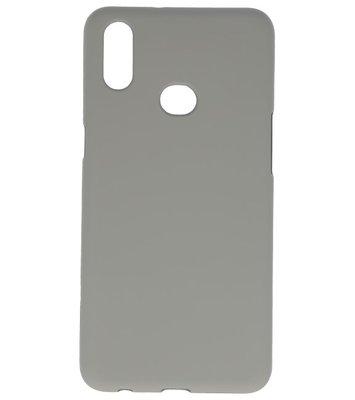 Color Backcover voor Samsung Galaxy A10s Grijs