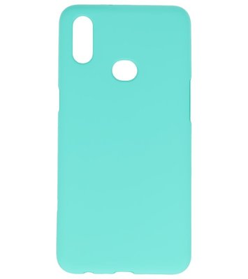 Color Backcover voor Samsung Galaxy A10s Turquoise