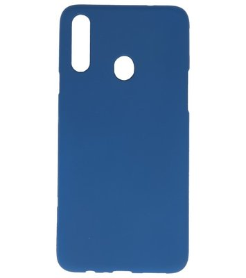 Color Backcover voor Samsung Galaxy A20s Navy