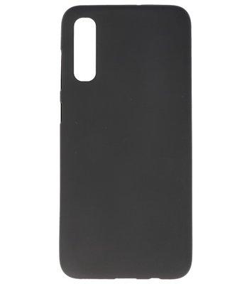 Color Backcover voor Samsung Galaxy A70s Zwart