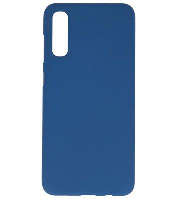 Color Backcover voor Samsung Galaxy A70s Navy