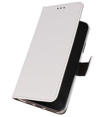 Wallet Cases Hoesje Samsung Galaxy A20s Wit