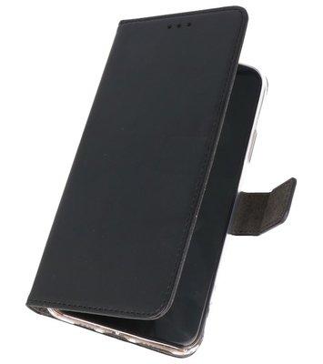 Wallet Cases Hoesje Samsung Galaxy A50s Zwart