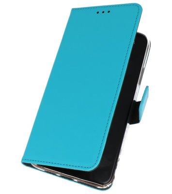 Wallet Cases Hoesje Samsung Galaxy A50s Blauw