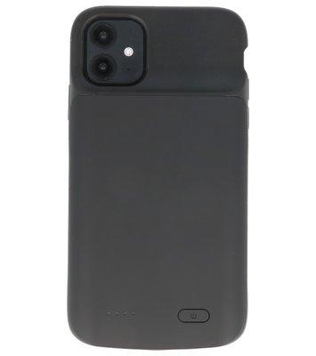 Battery Power Case voor iPhone 11 Zwart