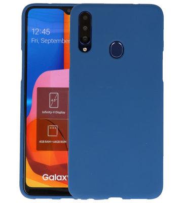 Color Backcover voor Samsung Galaxy A20s Navy