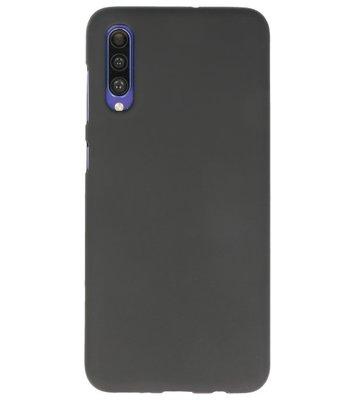 Color Backcover voor Samsung Galaxy A50s Zwart