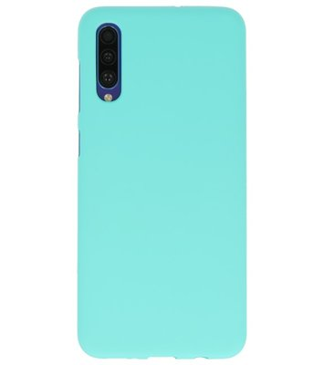 Color Backcover voor Samsung Galaxy A50s Turquoise