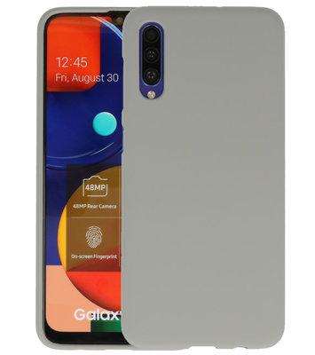 Color Backcover voor Samsung Galaxy A50s Grijs