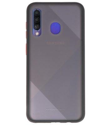 Kleurcombinatie Hard Case voor Samsung Galaxy A50 Zwart