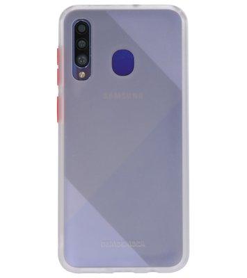 Kleurcombinatie Hard Case voor Samsung Galaxy A50 Transparant