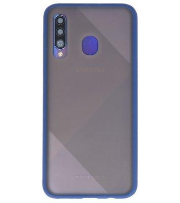 Kleurcombinatie Hard Case voor Samsung Galaxy A50 Blauw