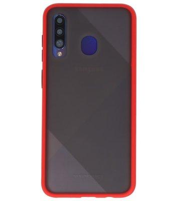 Kleurcombinatie Hard Case voor Samsung Galaxy A50 Rood