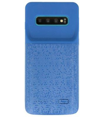 Battery Power Case voor Samsung Galaxy S10 Blauw