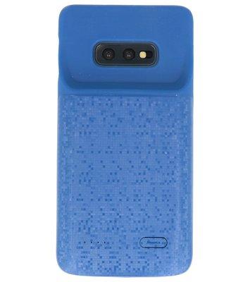 Battery Power Case voor Samsung Galaxy S10e Blauw