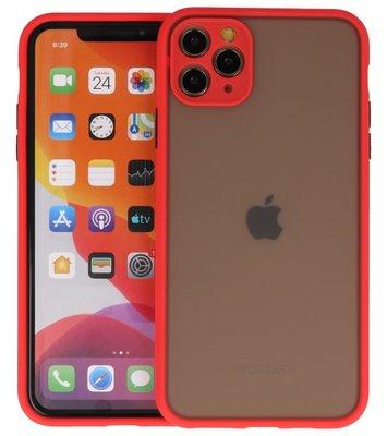 Kleurcombinatie Hard Case voor iPhone 11 Pro Max Rood