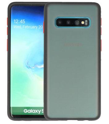 Kleurcombinatie Hard Case voor Samsung Galaxy S10 Zwart