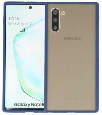 Kleurcombinatie Hard Case voor Samsung Galaxy Note 10 Blauw