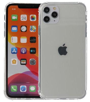 Schokbestendig TPU hoesje voor iPhone 11 Pro Max Transparant