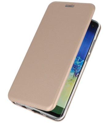 Slim Folio Case voor Huawei P30 Lite Goud
