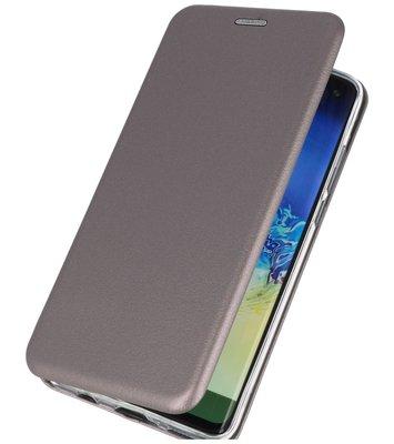 Slim Folio Case voor Huawei P30 Lite Grijs