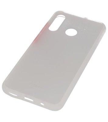 Kleurcombinatie Hard Case voor Huawei P30 Lite Transparant