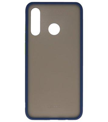 Kleurcombinatie Hard Case voor Huawei P30 Lite Blauw