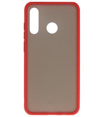 Kleurcombinatie Hard Case voor Huawei P30 Lite Rood