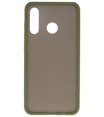 Kleurcombinatie Hard Case voor Huawei P30 Lite Groen