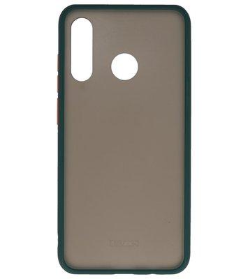 Kleurcombinatie Hard Case voor Huawei P30 Lite Donker Groen