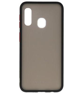 Kleurcombinatie Hard Case voor Samsung Galaxy A40 Zwart