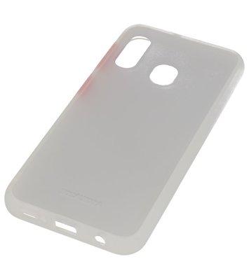 Kleurcombinatie Hard Case voor Samsung Galaxy A40 Transparant