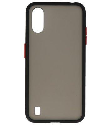 Kleurcombinatie Hard Case voor Samsung Galaxy A01 Zwart