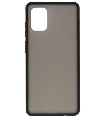 Kleurcombinatie Hard Case voor Samsung Galaxy A71 Zwart