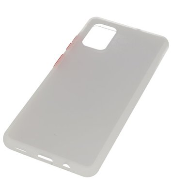 Kleurcombinatie Hard Case voor Samsung Galaxy A71 Transparant